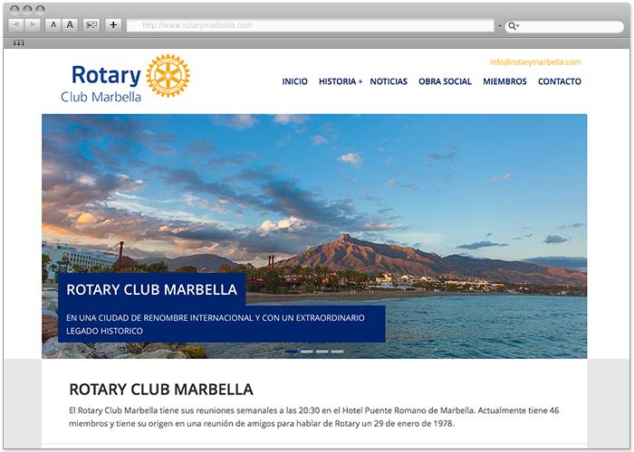 Rotary Club Marbella Web by naran-ho