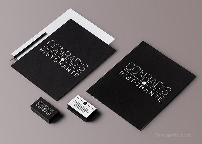 Conrad's Il Ristorante - Diseño Corporativo - naran-ho.com
