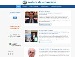 Revista de Urbanismo - Diseño Web + Fotografía