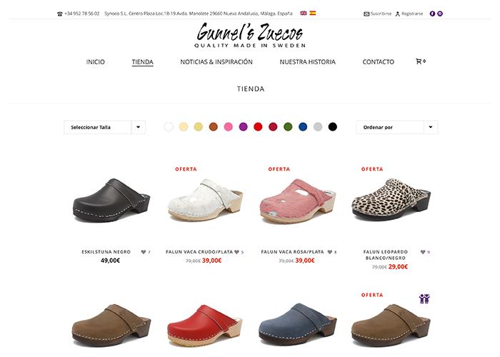 gunnelszuecos.com - Diseño web marbella - naran-ho