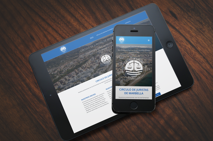 naran-ho Diseño web e imagen corporativa Circulo de juristas de Marbella