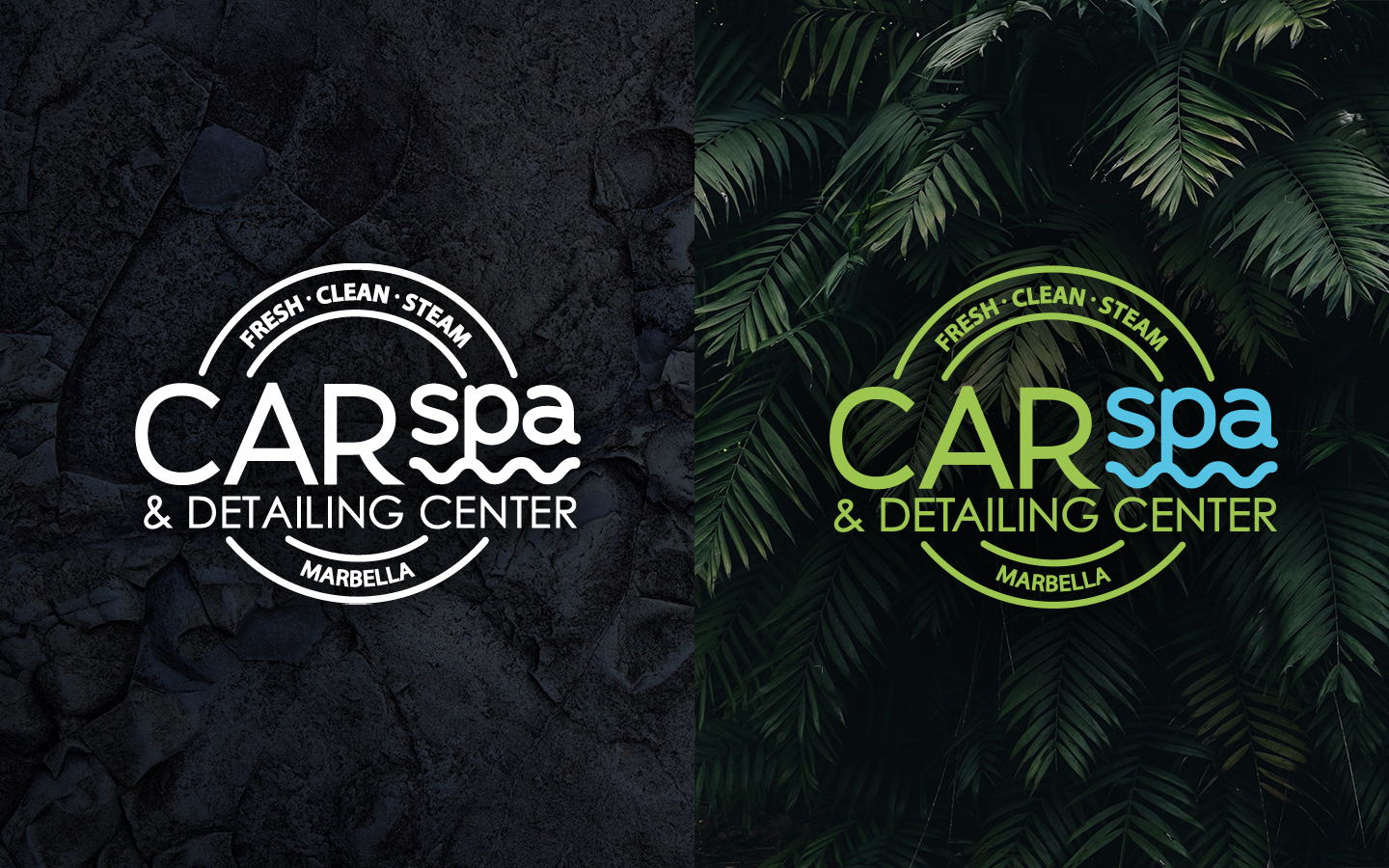 CAR Spa & Detailing Center - Branding by NARAN-HO Design Marbella