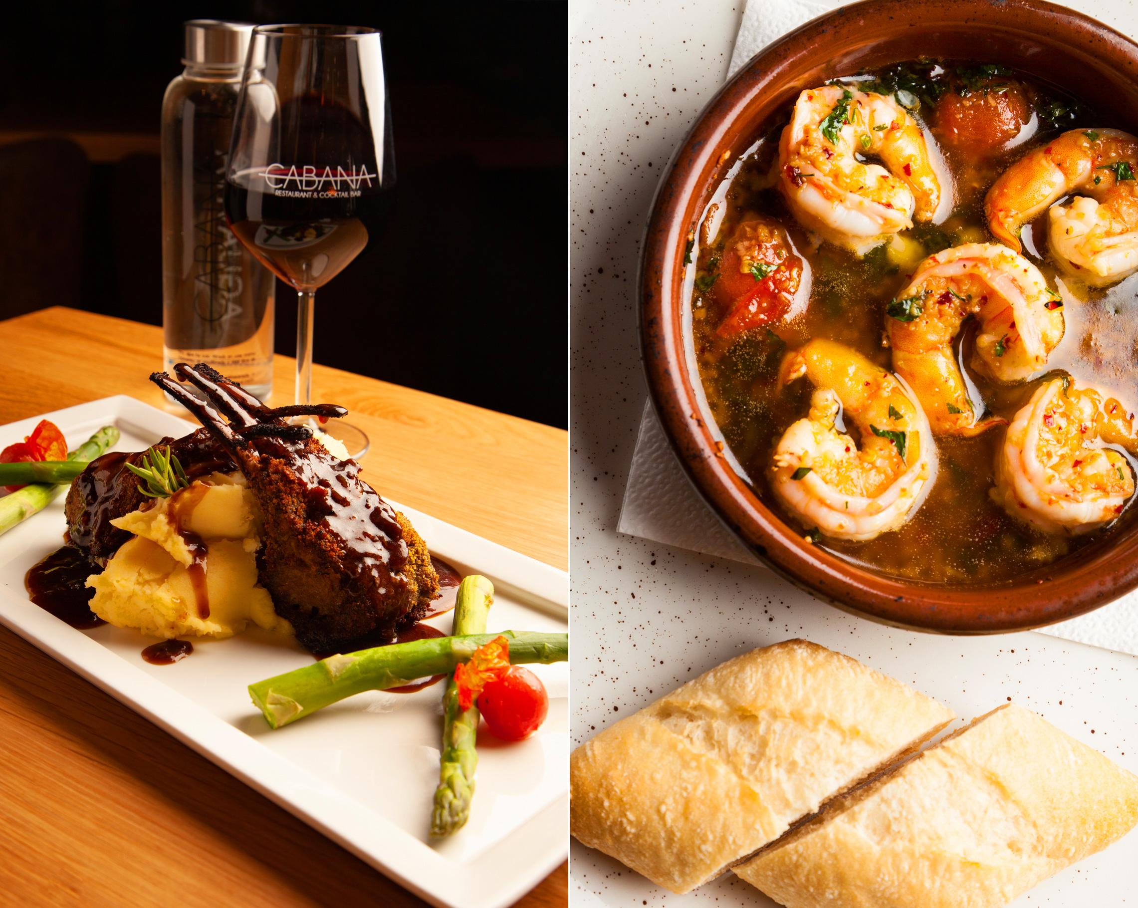 Cabana Restaurant Diseño Web + Fotografía Alimentos