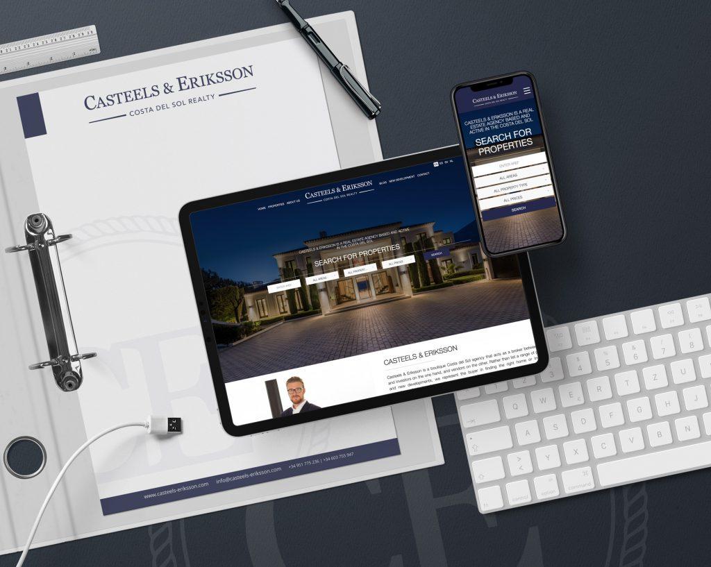 Casteels & Eriksson - Diseño Web Marbella + Integración CRM