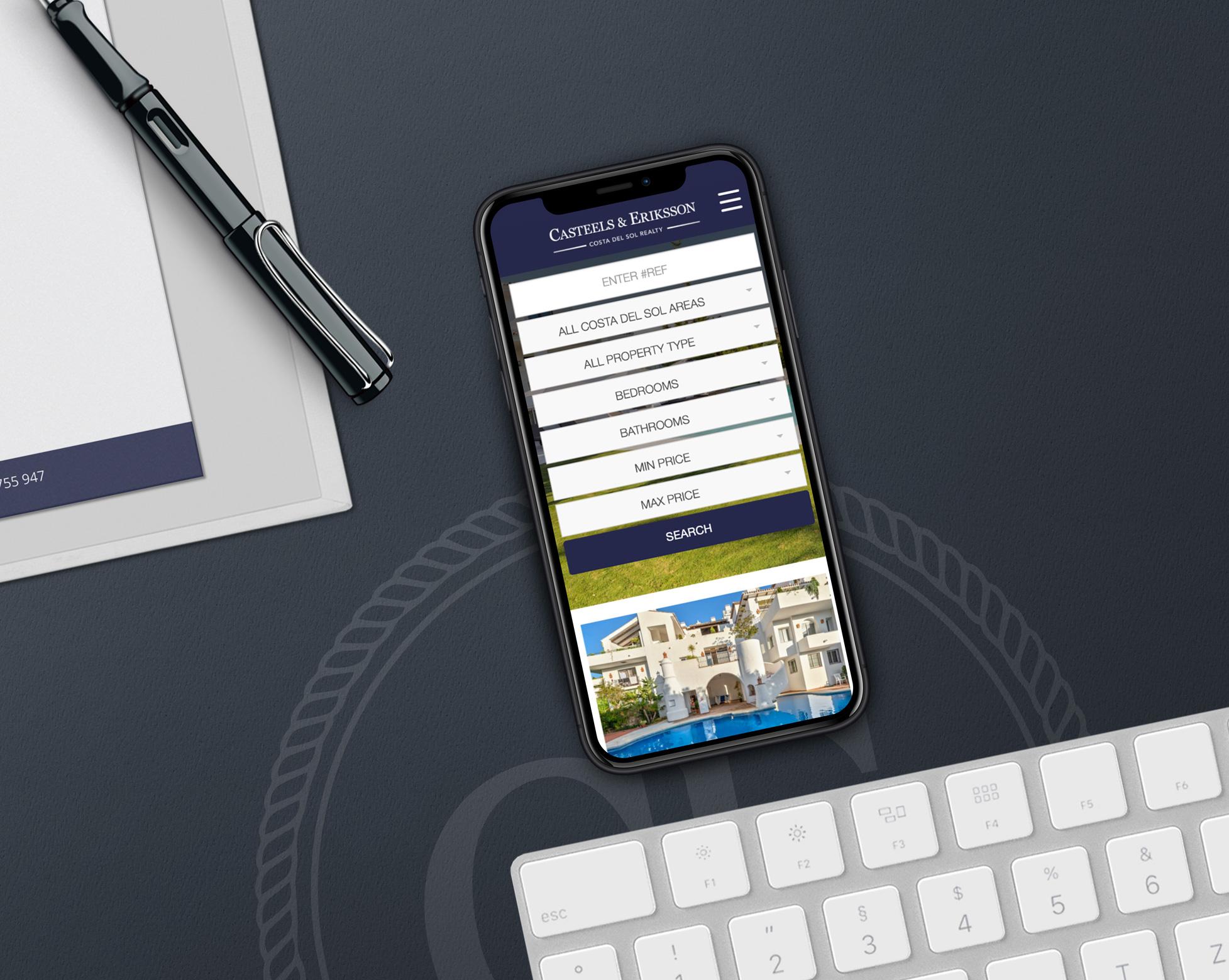 Casteels & Eriksson - Diseño Web + Integración CRM