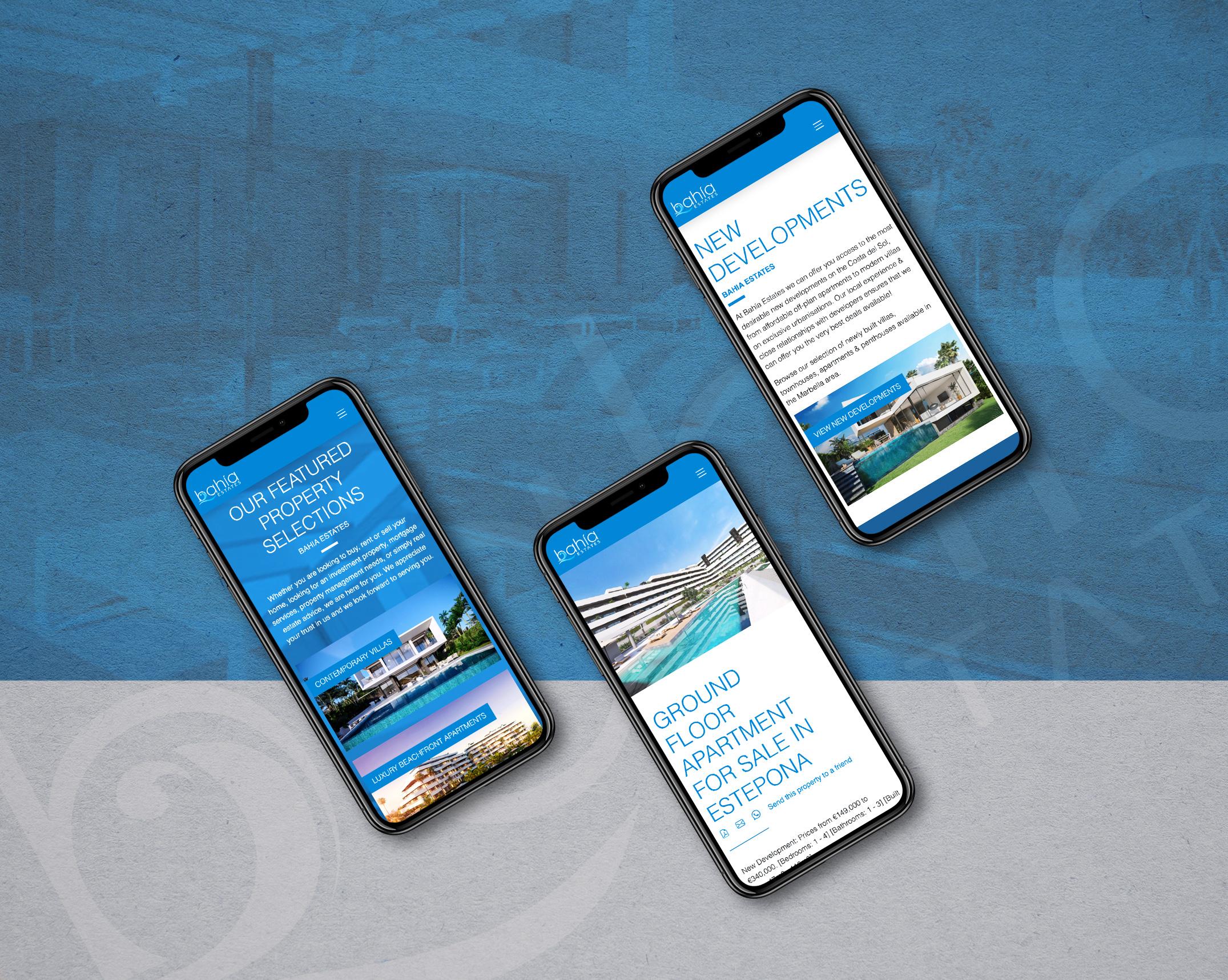 Bahia Estates - Diseño Web Marbella - NARAN-HO Design